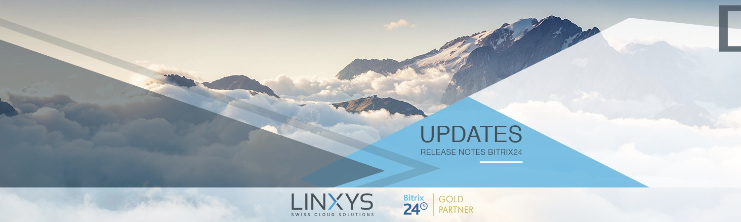 Updates Release Notes Bitrix24 LINXYS GmbH