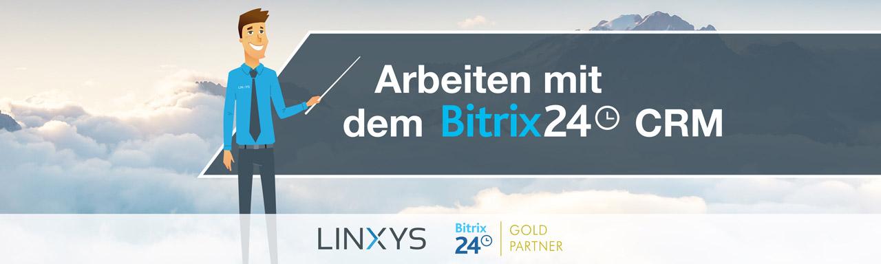 Arbeiten mit dem Bitrix24 CRM